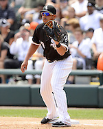 CHICAGO - JUNE 30:  Jose Abreu #79 of the Chicago White Sox fields against the Minnesota Twins on June 30, 2016 at U.S. Cellular Field in Chicago, Illinois.  The White Sox defeated the Twins 6-5.  (Photo by Ron Vesely) Subject:    Jose Abreu