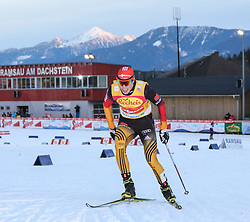 20.12.2014, Nordische Arena, Ramsau, AUT, FIS Nordische Kombination Weltcup, Staffel Langlauf, im Bild Eric Frenzel (GER) // during Cross Country of FIS Nordic Combined World Cup, at the Nordic Arena in Ramsau, Austria on 2014/12/20. EXPA Pictures © 2014, EXPA/ Martin Huber