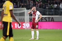 Deception Metz - Kevin LEJEUNE - 23.05.2015 - Metz / Lille - 38e journee Ligue 1<br />Photo : Fred Marvaux / Icon Sport