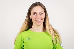 Ana Bucik during the outfitting of the Slovenian Olympic Team for PyeongChang 2018, on January 29, 2018 in GH Union, Ljubljana, Slovenia. Photo by Urban Urbanc / Sportida