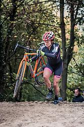 ERLANDSSON Asa Maria (SWE) during the Women's race, UCI Cyclo-cross World Cup at Valkenbrug, The Netherlands, 23 October 2016. Photo by Pim Nijland / PelotonPhotos.com | All photos usage must carry mandatory copyright credit (Peloton Photos | Pim Nijland)