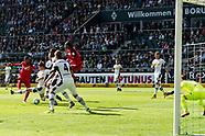 Borussia Monchengladbach and Eintracht Frankfurt - 9 Sep 2017