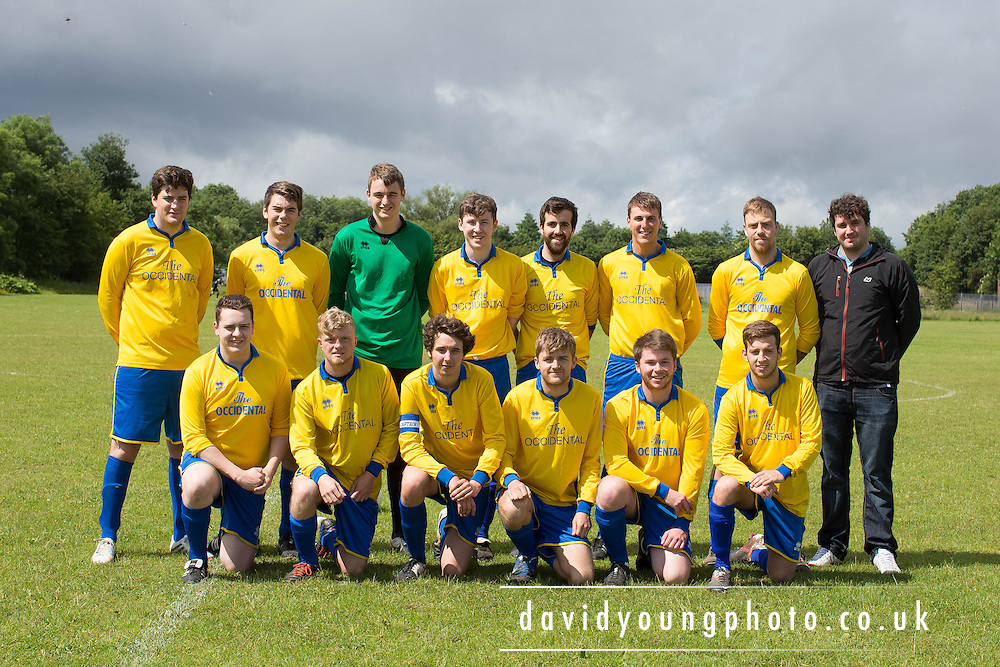Occidental play in the Dundee Summer Football Association<br /> <br />  - &copy; David Young - www.davidyoungphoto.co.uk - email: davidyoungphoto@gmail.com