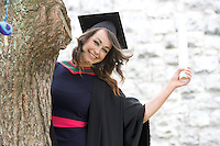 19/06/2014  Tara Cawley with her   Bachelor of Science degree  in Speech and Language Therapy which she received  from NUI, Galway. Photo:Andrew Downes