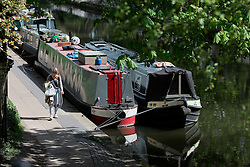 UK ENGLAND LONDON 30APR16 - London Canal boats near Haggerston, east London.<br /> <br /> jre/Photo by Jiri Rezac<br /> <br /> © Jiri Rezac 2016