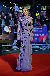 © Licensed to London News Pictures. 15/10/2017. London, UK. LAURA BAILEY attends the Three Billboards Outside Ebbing Missouri Film UK Premiere showing as part of the 51st BFI London Film Festival. Photo credit: Ray Tang/LNP