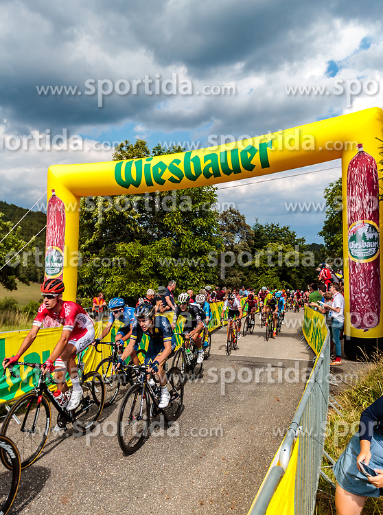 04.07.2017, Pöggstall, AUT, Ö-Tour, Österreich Radrundfahrt 2017, 2. Etappe von Wien nach Pöggstall (199,6km), im Bild Wiebauer Bergwertung Peloton // during the 2nd stage from Vienna to Pöggstall (199,6km) of 2017 Tour of Austria. Pöggstall, Austria on 2017/07/04. EXPA Pictures © 2017, PhotoCredit: EXPA/ JFK