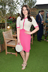KAT SHOOB at a vintage fashion pop-up evening hosted by Dawn O'Porter at The Gardening Society, John Lewis, Oxford Street on 27th July 2016.