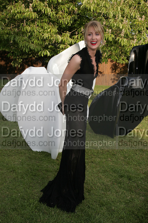 Lady Emily Compton, The Summer Party in association with Swarovski. Co-Chairs: Zaha Hadid and Dennis Hopper, Serpentine Gallery. London. 11 July 2007. <br /> -DO NOT ARCHIVE-© Copyright Photograph by Dafydd Jones. 248 Clapham Rd. London SW9 0PZ. Tel 0207 820 0771. www.dafjones.com.