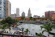 Providence Riverwalk, Providence, Rhode Island, USA