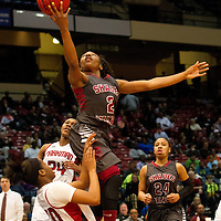 140228  6A State Basketball Girls Shades Valley vs Sparkman