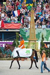 Jeroen Dubbeldam, (NED), Zenith SFN - Show Jumping Final Four - Alltech FEI World Equestrian Games™ 2014 - Normandy, France.<br /> © Hippo Foto Team - Jon Stroud<br /> 07/09/2014