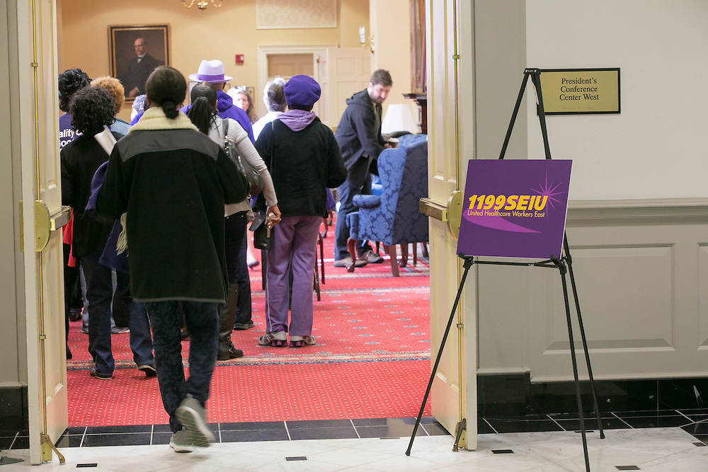 1199 MDDC SEIU's legislative action day in Annapolis, MD on Wednesday, March 9, 2016.
