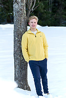 Alex Muthersbaugh senior portrait session.  ©2018 Karen Bobotas Photographer