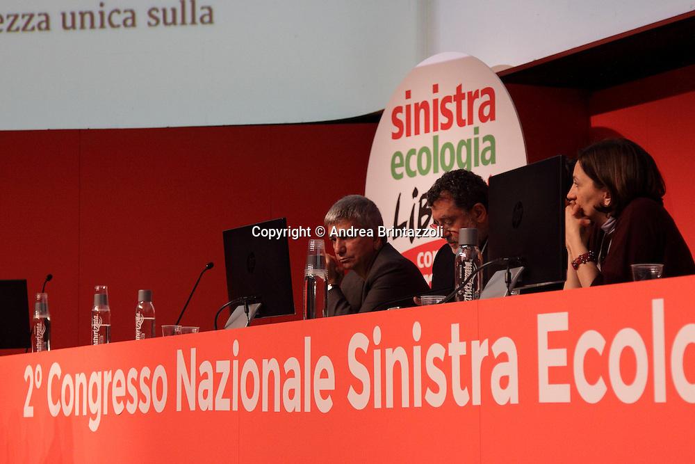 Riccione 25 Gennaio 2014 - 2&deg; Congresso Nazionale Sinistra Ecologia Liberta' - SEL.<br /> Nichi Vendola