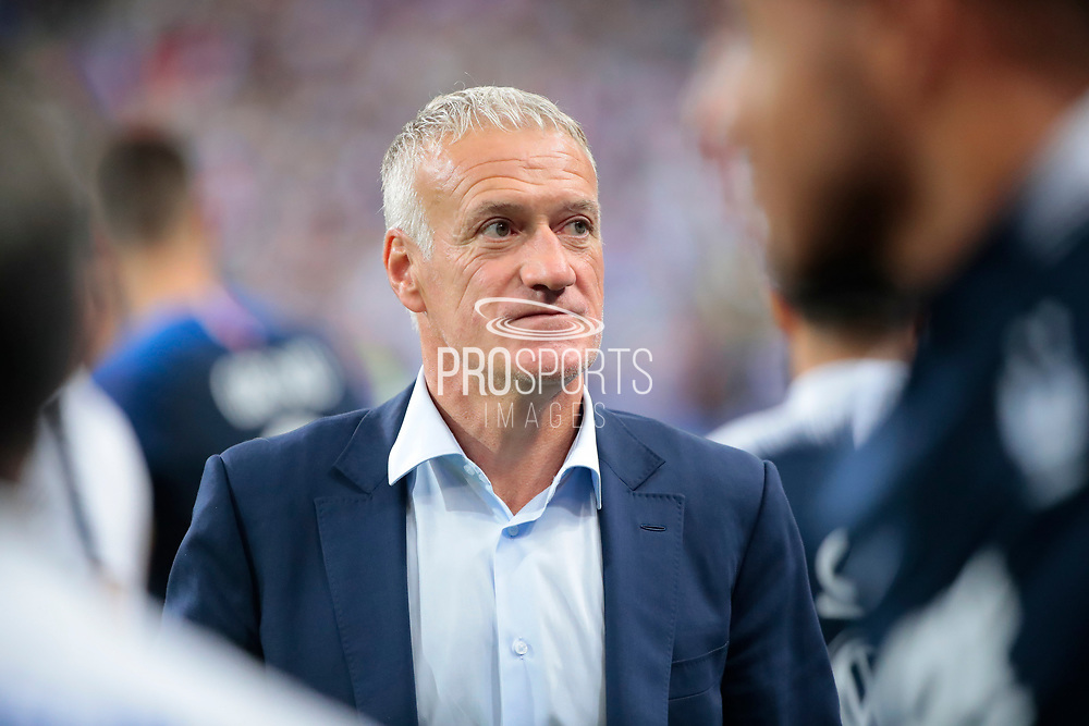 Didier Deschamps (FRA) during the UEFA Nations League, League A, Group 1 football match between France and Netherlands on September 9, 2018 at Stade de France stadium in Saint-Denis near Paris, France - Photo Stephane Allaman / ProSportsImages / DPPI