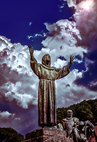 """Monument to Saint Francis of Assisi in Rome""…<br />