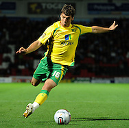 Doncaster - Tuesday September 14th, 2010:  Norwich City's Chris Martin in action during the NPower Championship match at Keepmoat Stadium, Doncaster. (Pic by Dave Howarth/Focus Images)