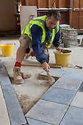 Robert Lovick from OG Stonemasonry. Pembroke College Hall, Bar and Forte Room September 16th 2010