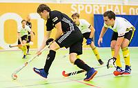 VIANEN - Zaalhockey Amsterdam-Victoria heren.  COPYRIGHT KOEN SUYK