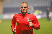 Coventry City midfielder, on loan from Aston Villa, Joe Cole  during the Sky Bet League 1 match between Coventry City and Barnsley at the Ricoh Arena, Coventry, England on 3 November 2015. Photo by Simon Davies.