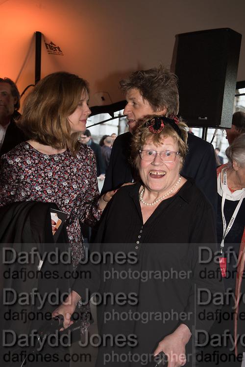 Charlotte Johnson Wahl; Opening of Photo London,  Somerset House. London. 20 May 2015