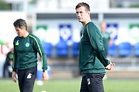 22/07/15 UEFA CHAMPIONS LEAGUE QUALIFIER 2ND LEG<br /> STJARNAN v CELTIC <br /> STJORUVOLLUR - ROMANIA <br /> Celtic manager Ronny Deila ahead of kick off