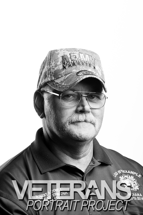 Robert A. Dowell<br /> Army<br /> E-7<br /> Truck Driver<br /> OIF, Panama<br /> <br /> Veterans Portrait Project<br /> St. Louis, MO