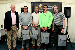Third place in the Worcester Warriors charity golf day in aid of Acorns Children's Hospice - Mandatory by-line: Robbie Stephenson/JMP - 20/04/2017 - RUGBY - Astbury Hall - Bridgnorth, England - Worcester Warriors Charity Golf Day