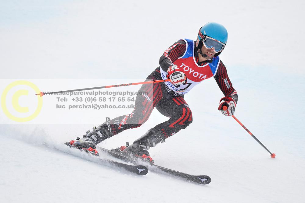 MIZDRAK Damir Guide: DEBELJAK Luka, B3, CRO at 2018 World Para Alpine Skiing Cup, Kranjska Gora, Slovenia
