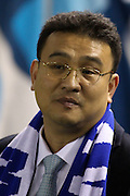 Sheffield Wednesday owner Dejphon Chansiri during the Capital One Cup Fourth Round match between Sheffield Wednesday and Arsenal at Hillsborough, Sheffield, England on 27 October 2015. Photo by Aaron Lupton.