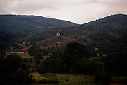 A small Orthodox chapel just outside of Zvecan, Kosovo in the Serbian-controlled North.