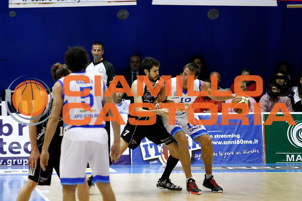 DESCRIZIONE : Capo dOrlando Lega A 2014-15 Orlandina Basket Dolomiti Energia Trento<br /> GIOCATORE : SANDRO NICEVIC DAVIDE PASCOLO<br /> CATEGORIA : CONTROCAMPO PALLEGGIO DIFESA<br /> SQUADRA : Orlandina Basket Dolomiti Energia Trento<br /> EVENTO : Campionato Lega A 2014-2015 <br /> GARA : Orlandina Basket Dolomiti Energia Trento<br /> DATA : 03/05/2015<br /> SPORT : Pallacanestro <br /> AUTORE : Agenzia Ciamillo-Castoria/G.Pappalardo<br /> Galleria : Lega Basket A 2014-2015<br /> Fotonotizia : Capo dOrlando Lega A 2014-15 Orlandina Basket Dolomiti Energia Trento