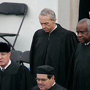 Presidential Inauguration 2005- GEORGE W. BUSH.Washington, DC.01/20/2005.West Front - US Capitol.Supreme Court Justices (clockwise from top left) David Hackett Souter, Clarence Thomas, Anthony M. Kennedy and Antonin Scalia ..Photo by Khue Bui..