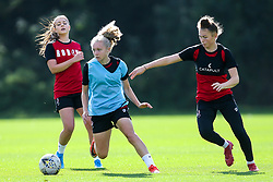Katie Robinson and Ellie Strippel of Bristol City Women during training at Failand - Mandatory by-line: Robbie Stephenson/JMP - 26/09/2019 - FOOTBALL - Failand Training Ground - Bristol, England - Bristol City Women Training