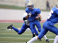 Tivy's Defensive Back Anthony Bosserman, Kerrville Tivy vs. Lanier, 1 p.m. Saturday, 17 Nov 07, at Alamo Stadium: Tivy dominated the game scoring 42 points in the first half and knocking Lanier out of the playoffs 52-7.