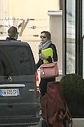 19.FEBRUARY.2013. PARIS<br /> <br /> ASHLEY BENSON, VANESSA HUDGENS AND RACHEL KORINE LEAVING THEIR HOTEL IN PARIS<br /> <br /> BYLINE: EDBIMAGEARCHIVE.CO.UK<br /> <br /> *THIS IMAGE IS STRICTLY FOR UK NEWSPAPERS AND MAGAZINES ONLY*<br /> *FOR WORLD WIDE SALES AND WEB USE PLEASE CONTACT EDBIMAGEARCHIVE - 0208 954 5968*