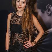 NLD/Amsterdam/20150211 - Premiere Fifty Shades of Grey, Nadia Palesa Poeschmann