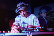 DJ Scratch at the Scala London February 2000