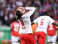 FUSSBALL  DFB POKAL FINALE  SAISON 2018/2019 IN BERLIN RB Leipzig - FC Bayern Muenchen         25.05.2019 Yussuf Poulsen (RB Leipzig)enttaeuscht
