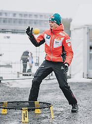 10.03.2020, Lysgards Schanze, Lillehammer, NOR, FIS Weltcup Skisprung, Raw Air, Lillehammer, Herren, im Bild Philipp Aschenwald (AUT) // Philipp Aschenwald of Austria during men's 2nd Stage of the Raw Air Series of FIS Ski Jumping World Cup at the Lysgards Schanze in Lillehammer, Norway on 2020/03/10. EXPA Pictures © 2020, PhotoCredit: EXPA/ JFK