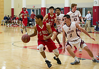 SPS boys basketball with Exeter.  ©2018 Karen Bobotas Photographer