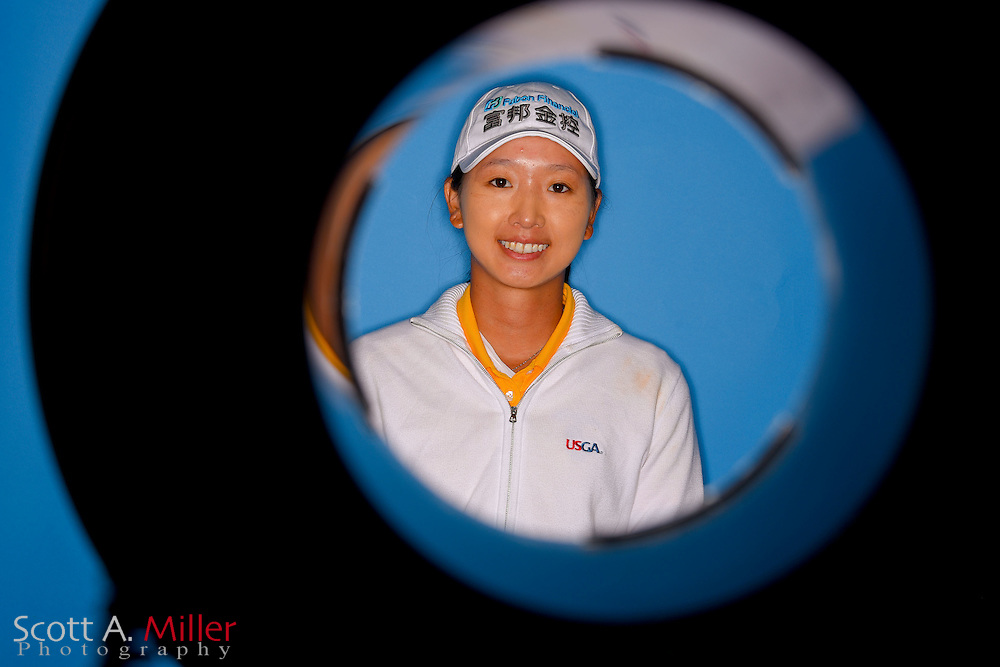 Doris Chen during a portrait session prior to the Symetra Tour's Guardian Retirement Championship  on April 19, 2016 in Sarasota, Florida.<br /> <br /> &copy;2016 Scott A. Miller