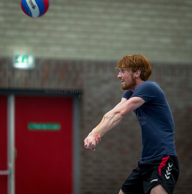 30-05-2016 NED: Training VCV 2 in sporthal West, Veenendaal<br /> Diede Woudsma