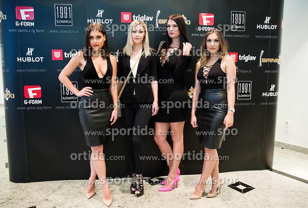 SPINS XI Nogometna Gala 2016 event when presented best men and women football players of Prva liga Telekom Slovenije, on May 17, 2016 in Hotel Union, Ljubljana, Slovenia. Photo by Vid Ponikvar / Sportida