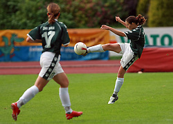 Manja Benak of Krka at final game of NZS women football cup between ZNK Pomurje vs ZNK Krka, on June 4, 2008, at ZAK stadium in Ljubljana, Slovenia. Krka won the match 4:1 and became Slovenian Cup Champion. (Photo by Vid Ponikvar / Sportal Images)