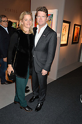 The American Ambassador MATTHEW BARZUN and BROOKE BROWN BARZUN at the PAD London 2015 VIP evening held in the PAD Pavilion, Berkeley Square, London on 12th October 2015.