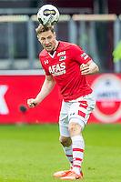 ALKMAAR - 26-02-2017, AZ - PEC Zwolle, AFAS Stadion, AZ speler Rens van Eijden