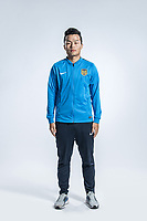 **EXCLUSIVE**Portrait of Chinese soccer player Nan Xiaoheng of Jiangsu Suning F.C. for the 2018 Chinese Football Association Super League, in Nanjing city, east China's Jiangsu province, 23 February 2018.