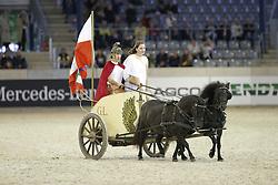 Reiten, Pferdesport, Ponys, Schaubild<br /> Aachen - Europameisterschaften 2015<br /> Zuchttag<br /> © www.sportfotos-lafrentz.de/Stefan Lafrentz